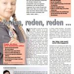 reden, reden, reden - artikel forum gesundheit
